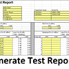 Fibre Optic test report Spreadsheet