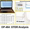 OTDR PC Analysis training course OP-464 allows you to generate OTDR reports quickly